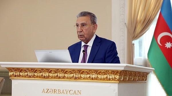 AMEA-nın prezidenti, akademik Ramiz Mehdiyevin 28 May - Respublika Günü münasibətilə Akademiya əməkdaşlarına təbriki